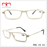 UnisexReading Glasses mit Metal Temple und Plastic Frame (WRP501004)