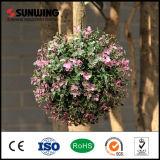 Шарик цветка украшения сада Eco-Friendly цветастый искусственний вися