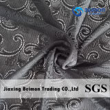 Nylon ткань сетки жаккарда Spandex в черноте для одежды китайской поставкой фабрики