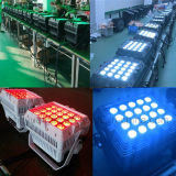 20PCS 15W RGBWA 5in1の屋外段階LED Parcanライト