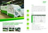 Beweglicher komprimierter Abfall-Förderwagen-Rumpf