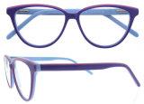 Marco de lujo de los vidrios del ojo de Eyewear de la manera del marco de espectáculo