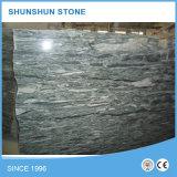 壁およびフロアーリングのための中国の多色刷りの緑の大理石の平板