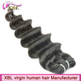 Accessoires de trame péruviens de cheveux de Remy de cheveux humains de Vierge