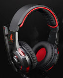 LED를 가진 USB Overear Supper Bass Gaming Headset