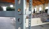 산업 보관 창고 빛 의무 선반 Q235 또는 Q345 강철 깔판 선반