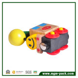 Высокое качество Красочный Прекрасный Магнитный Небольшой деревянный поезд