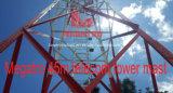 45mライト4脚の電気通信タワー