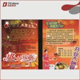 Cosméticos impresión promocional impreso folleto de fábrica