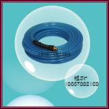 Double tuyau tressé à haute pression de fibre d'unité centrale
