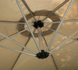 Оптовый большой профессиональный изготовленный на заказ напольный солнечный парасоль сада