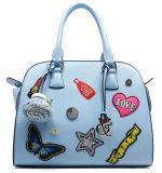 高品質の女性の優雅な傾向PUの革方法ハンドバッグ