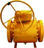 Robinet à tournant sphérique de tourillon d'ASME A182 F316