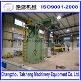 Indusrial Geräten-hakenförmige Granaliengebläse-Maschine/automatische Sandstrahlen-Maschine