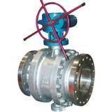Wcb flangeou válvula de esfera com almofada elevada