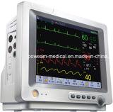 """12.1の""""、15.1 """"のタッチ画面ICUの忍耐強いモニタ(セリウム、FDAの承認)"""