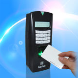 근거리 통신망 (F08/ID)를 가진 ID Card Reader와 Biometic Fingerprint Access Control