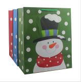 Kerstmis die de PromotieZak van de Gift van het Document/het Winkelen Zak afdrukt