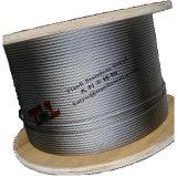 AISI 304 7X19 3mmのステンレス鋼ワイヤーロープ