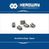 開いたかシールが付いているArchwire歯科矯正学のアクセサリの停止