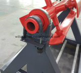 Metallo semplice Decoiler della bobina d'acciaio poco costosa da 3 tonnellate
