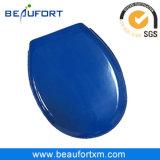 작풍 변기에 타원형 모양 Navy-Blue 포장