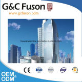 中国の工場建物のための完全な見るデザインガラスアルミニウムカーテン・ウォールの価格