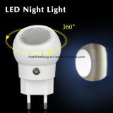 360 graad die de LEIDENE Lichte AutoSensor van de Nacht roteren