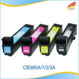 Cartucho de toner compatible Remanufactured del HP CB380A CB381A CB382A CB383A