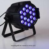 Binnen 18X15W RGBWA (het UV) 6 in-1 LEIDENE Licht van het PARI