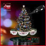모든 백색 낭만주의 크리스마스 선물 아름다운 크리스마스 나무