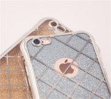 Гальванизируя iPhone аргументы за сотового телефона TPU роскошное Bling 6 6splus 7 7plus (XSDD-026)