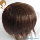 1/8durable het Toupetje van het Haar van de Voor MonoMensen van de Basis van het kant