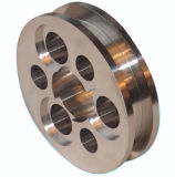 Peças fazendo à máquina feitas à máquina costume do CNC do alumínio da precisão dos componentes