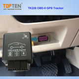Bluetooth Diagnostic Function Tk228-Ez를 가진 OBD2 SIM Card GPS Tracker