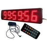 """цифровые часы 5 """" 6 чисел Semi-Напольные СИД, поддерживают регулярно часы и функцию Countdown/up"""