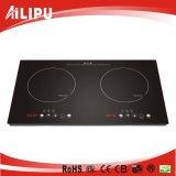 Doppio Cookware del bruciatore dell'elettrodomestico, articolo da cucina, riscaldatore infrarosso, stufa, (SM-DIC08A)