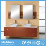 Grands accessoires de salle de bains de l'espace de stockage à haute brillance de peinture (BF118D)