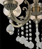 Iluminación de interior de cristal de la iluminación cristalina superior de la lámpara para el diseño del hogar del hotel