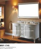 """Gabinete de banheiro de madeira maciça de alta qualidade de 60 """""""