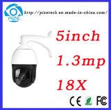 5 Camera van de Verlichting van de Camera van het Netwerk van de Koepel van de Snelheid van de duim 1.3MP 18X de vari-Brandpunts Infrarode Lage {BR-Mn5113m-X18r}