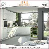 N & L gabinete de cozinha lustroso elevado feito fora do MDF
