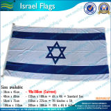Bandeira nacional feita malha da bandeira de Israel (M-NF05F09041)