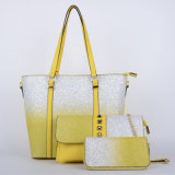 De nieuwe Handtassen van de Combinatie Pu van de Dames van het Ontwerp (P6442)