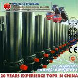 Einzelne verantwortliche teleskopische Hydrozylinder für Kipper