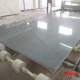 Big Size Slabs Sparkle Gray Mirror Color Quartz Stone