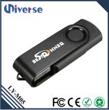 привод пер памяти USB ручки памяти привода USB 2.0 конструкции металла шарнирного соединения 8GB внезапный