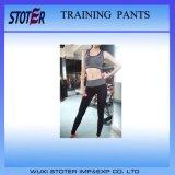 Yoga de secado rápido pantalones de Capri Mujeres de la aptitud
