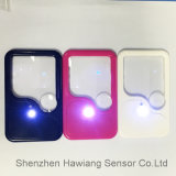 Promotional Gift (HW-212PA)를 위한 공장 Supply LED Light Card Magnifier