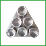 Coctelera magnética de la especia del acero inoxidable del triángulo